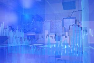 株価グラフのイラスト素材 [FYI01644248]