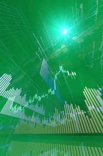 株価グラフのイラスト素材 [FYI01644276]