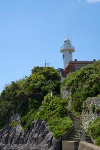 大王崎灯台の写真素材 [FYI01644288]