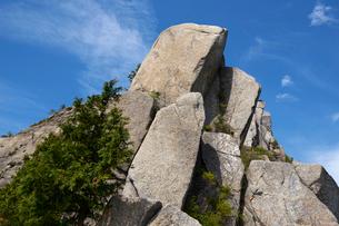 御在所岳の奇石の写真素材 [FYI01644340]