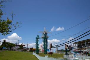 生駒山上遊園地の写真素材 [FYI01644386]