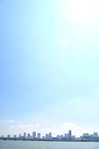 大阪市北区の街並みの写真素材 [FYI01644395]