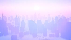 未来都市のイラスト素材 [FYI01644658]