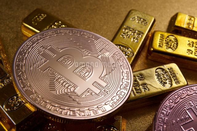 仮想通貨の写真素材 [FYI01644698]