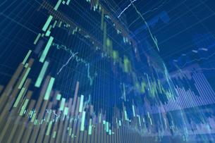 株価グラフのイラスト素材 [FYI01644761]