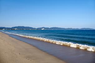 弓ヶ浜より境港方面を望むの写真素材 [FYI01644921]