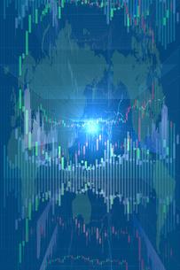株価グラフのイラスト素材 [FYI01645037]