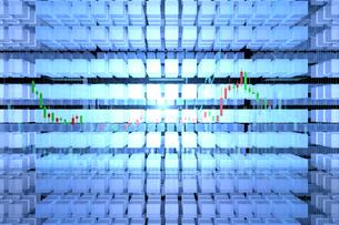 株価グラフのイラスト素材 [FYI01645074]