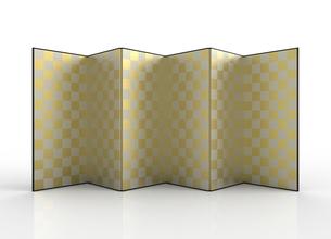 金屏風のイラスト素材 [FYI01645091]