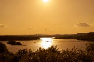 英虞湾の夕景の写真素材 [FYI01645191]