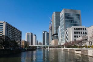 淀屋橋より西を望むの写真素材 [FYI01645199]