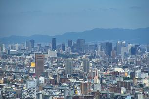 生駒山山頂からの大阪の遠景の写真素材 [FYI01645226]