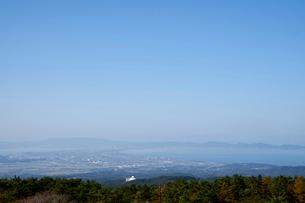 桝水原より望む弓ヶ浜の写真素材 [FYI01645254]