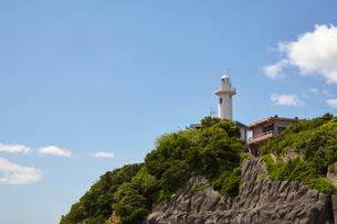大王崎灯台の写真素材 [FYI01645380]