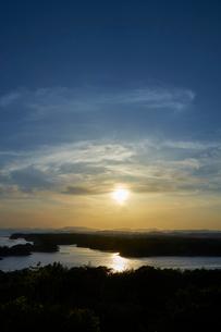 英虞湾の夕景の写真素材 [FYI01645414]