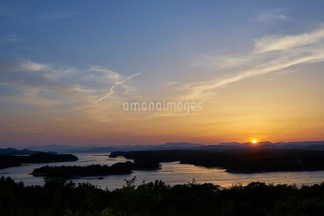 英虞湾の夕景の写真素材 [FYI01645518]