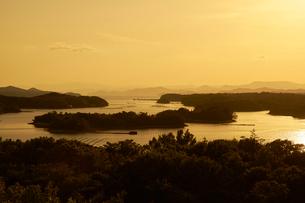 英虞湾の夕景の写真素材 [FYI01645694]