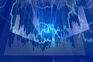 株価グラフのイラスト素材 [FYI01645705]
