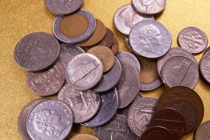 色々なコインの写真素材 [FYI01645781]