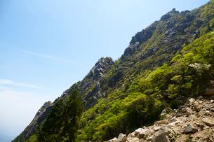 御在所岳登山道からの眺めの写真素材 [FYI01645784]