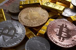 仮想通貨の写真素材 [FYI01645837]