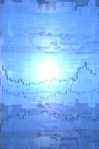 株価グラフのイラスト素材 [FYI01645915]