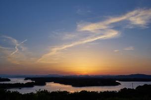 英虞湾の夕景の写真素材 [FYI01645939]