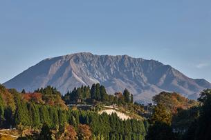 江府町から望む奥大山の写真素材 [FYI01645989]