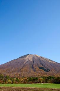 桝水高原より望む大山の写真素材 [FYI01645993]