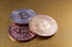仮想通貨の写真素材 [FYI01646007]