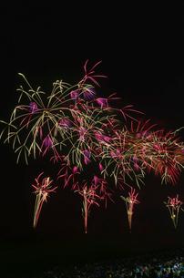 古河花火大会 祭り太鼓の写真素材 [FYI01646855]