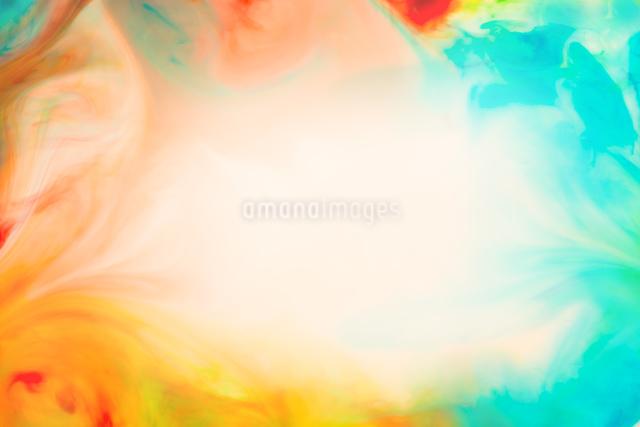 マーブリング背景の写真素材 [FYI01647519]
