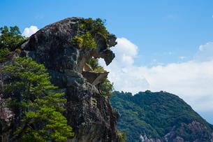 獅子岩の写真素材 [FYI01647661]