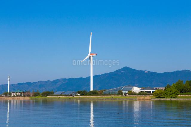 風力発電の風車の写真素材 [FYI01647759]