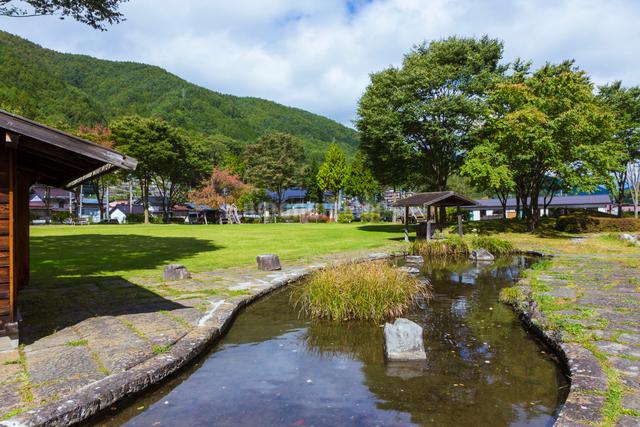 奈良井宿の写真素材 [FYI01647907]