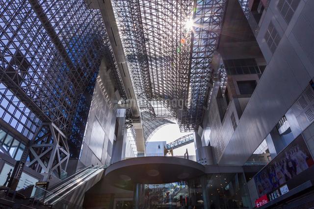 京都駅ビルの写真素材 [FYI01648572]