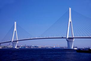 横浜つばさ橋の写真素材 [FYI01648913]