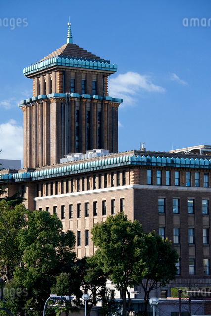 クラシックな神奈川県庁舎の写真素材 [FYI01648923]