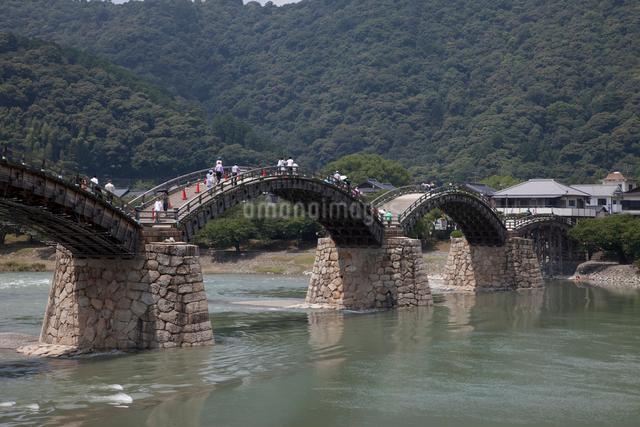 錦帯橋の写真素材 [FYI01649137]