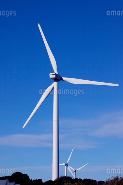 エコな風力発電機の写真素材 [FYI01649793]