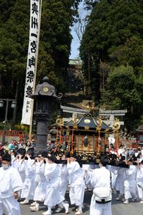 塩竃神社花祭りの写真素材 [FYI01649956]