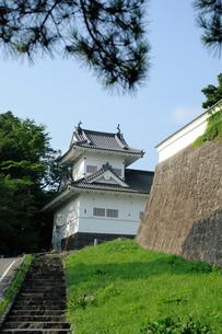 仙台城跡脇櫓の写真素材 [FYI01650271]
