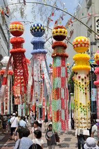 仙台七夕祭りの写真素材 [FYI01650808]