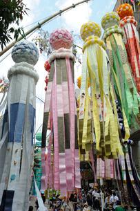仙台七夕祭りの写真素材 [FYI01651104]