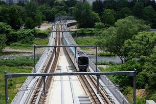 仙台市地下鉄東西線の写真素材 [FYI01651961]