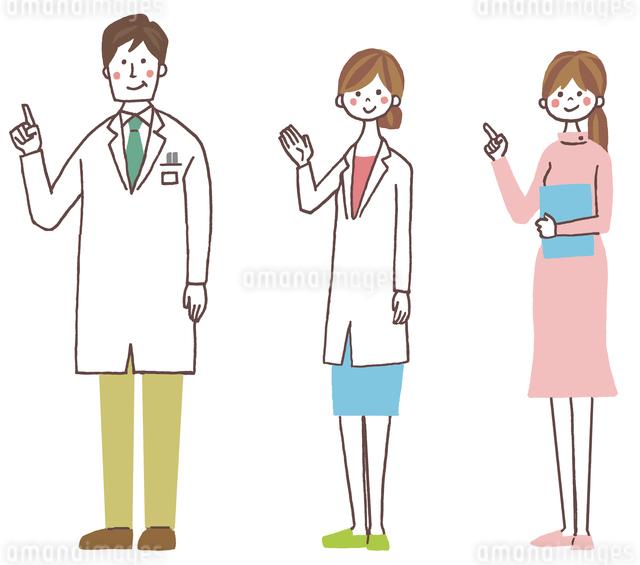 医者と看護師のイラスト素材 [FYI01653852]