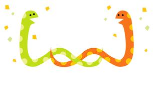 色違いのヘビのイラスト素材 [FYI01654204]