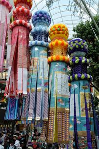 仙台七夕祭りの写真素材 [FYI01654721]