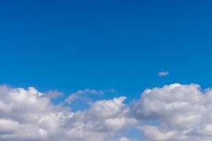 青空と雲の写真素材 [FYI01656882]