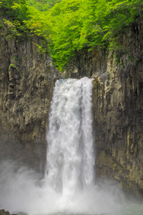 苗名滝の写真素材 [FYI01656995]